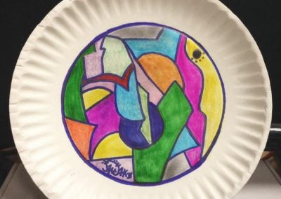 Paper plate #10