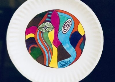 Paper plate #11