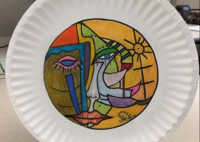 Paper plate #3