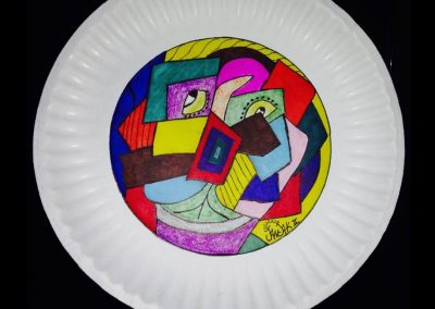 Paper plate #7